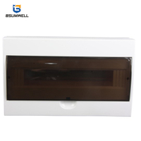 PS-TSM-S18WAYS IP50 Surface Type Waterproof Plastic Distribution Box
