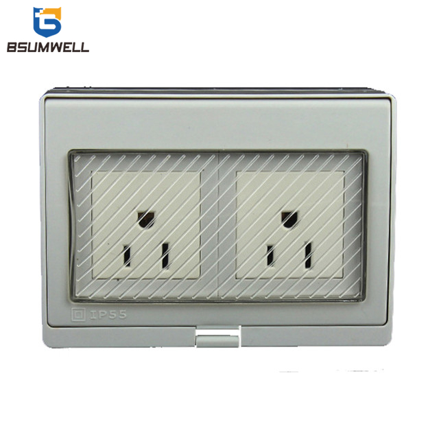PS-2AM Americal Socket And Switch