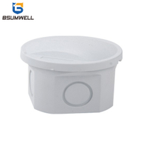 50*50mm ABS PC Plastic Waterproof Electrical Junction Box