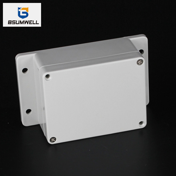 115*90*55mm IP67 Waterproof ABS PC Plastic Junction Box with Ear
