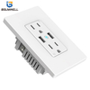 PS-US005 Wifi outlet (2 US type AC outputs+2 USB outputs) Work with Alexa