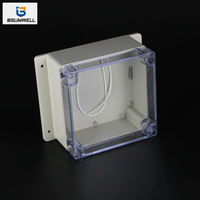 160*160*90mm IP67 Waterproof ABS PC Plastic Junction Box with Ear