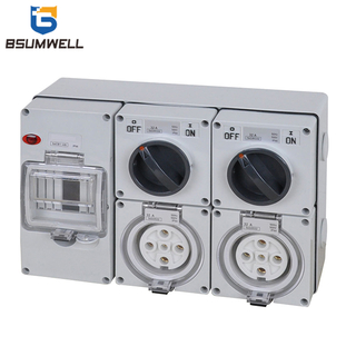 PS-56CV-E6 IP65 Combination Switch Socket