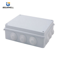 255*200*80 ABS PVC Wall Mountl Plastic Waterproof Electrical Junction Box