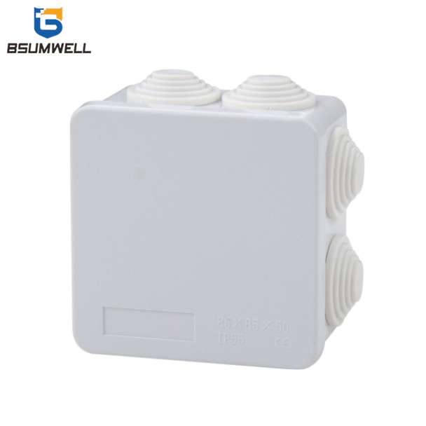 85*85*50 ABS PVC Mini Small Plastic Waterproof Electrical Cable Junction Box