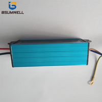 50W 40W 30W 20W 10W IP67 waterproof aluminum shell Isolation LED driving constant current power supply with lightning protection