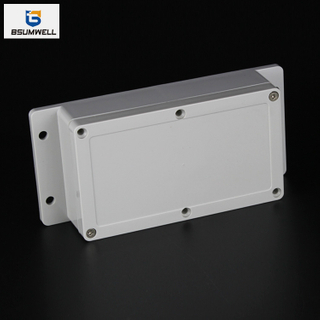 158*90*64mm IP67 Waterproof ABS PC Plastic Junction Box with Ear