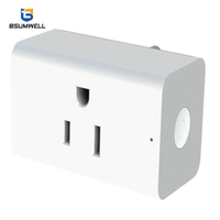 PS158 Smart socket (1 US type AC outputs) Work with Alexa