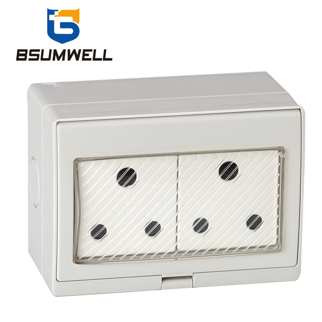 South Africa Type Ip55 Waterproof Socket And Switch