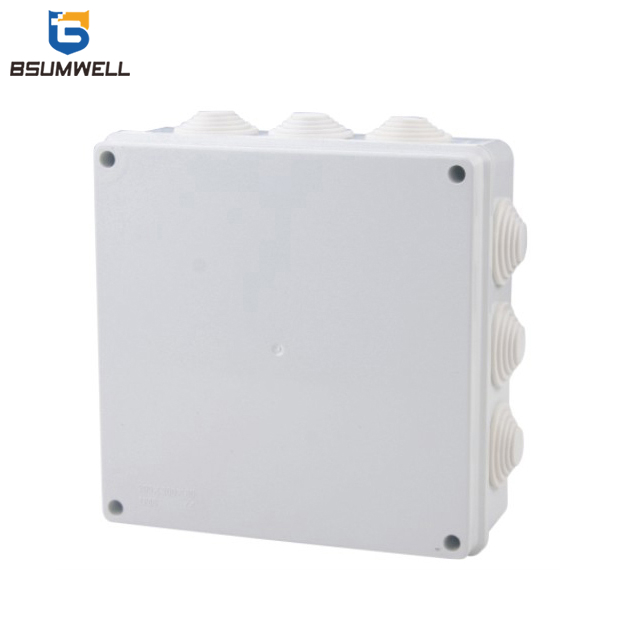 200*200*80 ABS+PVC Waterproof Electrical Plastic Junction Box