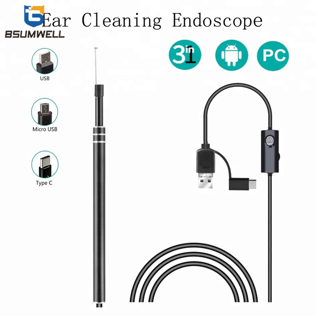 PS-ER003 Black Ear Endoscope
