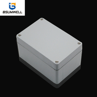 PS-AL120806 125*80*60mm IP68 Aluminum Waterproof Enclosure
