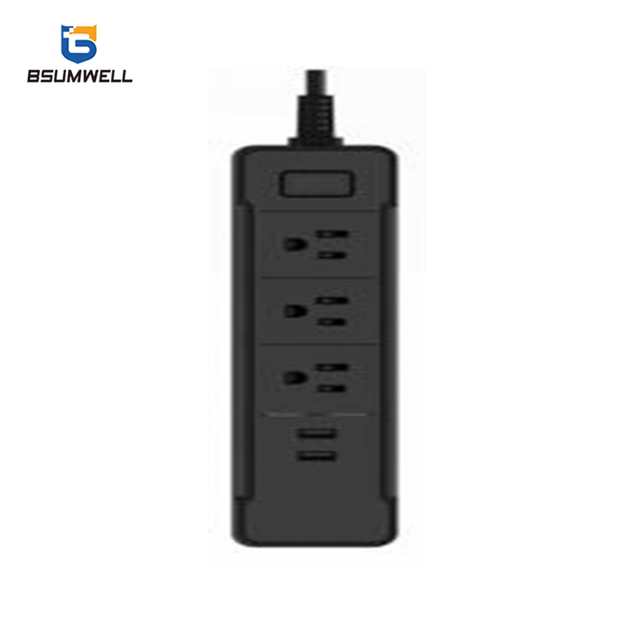 PS198 Smart socket (3 US type AC outputs+2 USB outputs) Work with Alexa