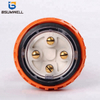 Australia Standard 56P420 three phase 250V/500V 4 round pin Waterproof straight industrial plug with CE Approval